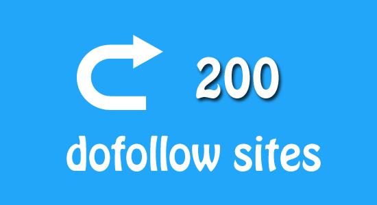 200 Blog Dofollow untuk Komentar Pemburu Backlink
