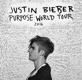 """Promoção """"Justin Bieber – Purpose World Tour 2016"""