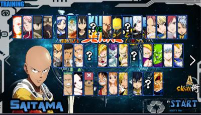 download Naruto Senki Mod Saitama Sensei terbaru