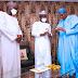President Buhari receives gold bars and precious stones mined in Zamfara from Governor Matawalle (photos).