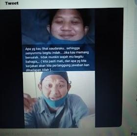 Viral Foto HOAKS Jenazah Anggota FPI Tersenyum Meninggal, Ternyata Orangnya Masih Hidup