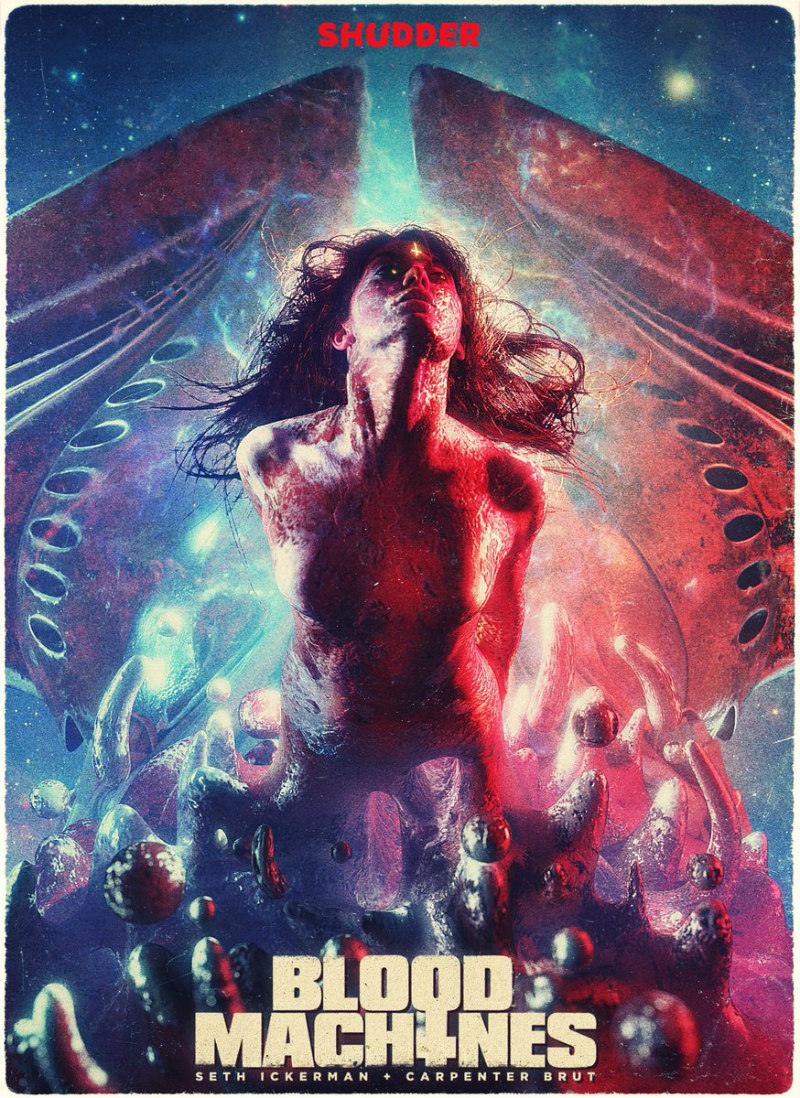 blood machines poster