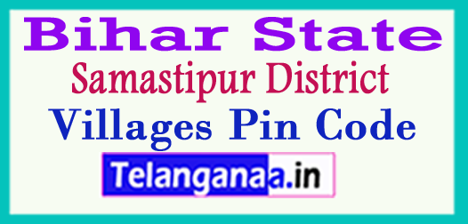 Samastipur District Pin Codes in Bihar State