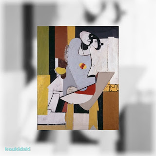 Πίνακας Arshile Gorky (Blue figure in a chair)