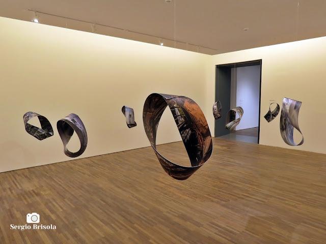 Vista artística da Exposição Maquinaria - Moebius - Centro Universitário Maria Antonia -  Vila Buarque - São Paulo