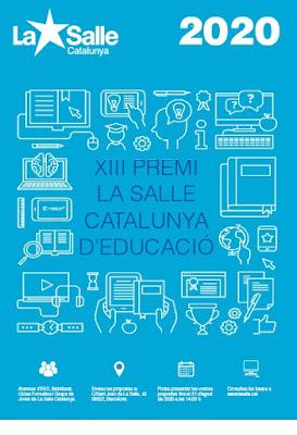 XIII Premi La Salle Catalunya d'Educació