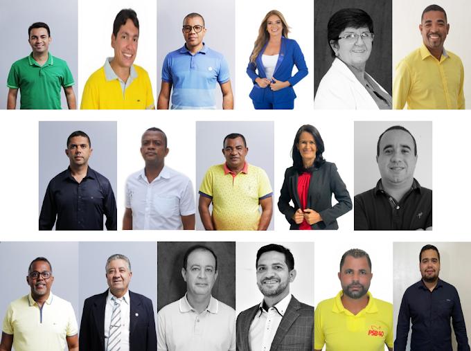 Veja os candidatos a vereadores eleitos em Serrinha