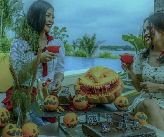 Ikuti Pesta Halloween di Harris Resort Barelang Batam