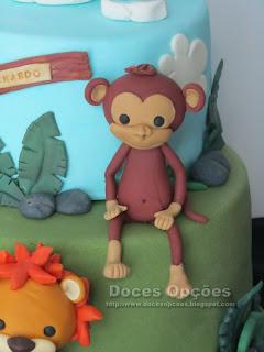 monkey sugarpaste