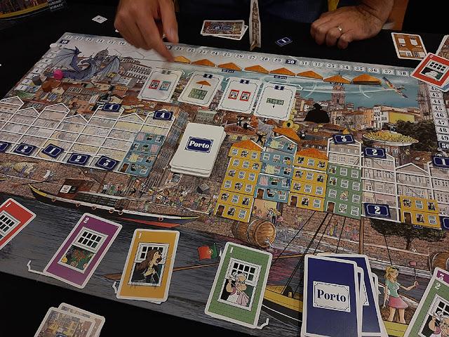 Jogo de Tabuleiro do Porto