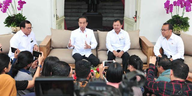 Presiden Jokowi Umumkan Dua WNI Positif Terjangkit Virus Corona