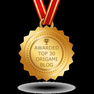 415. Wyróżnienie – Top 30 Origami Blog