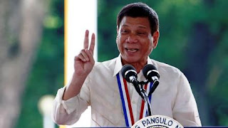 Duterte asegura que en Filipinas hay, al menos, 3,7 millones de adictos a la metanfetamina, un estimulante prohibido que denominan 'shabu', y que cerca de 600.000 consumidores y traficantes se han entregado a las autoridades.