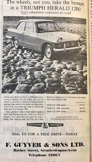 F Guyver & Sons Ltd Herald advert