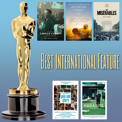 Best International Feature Film Academy Awards nominees, including Corpus Christi, Honeyland, Les Miserables, Pain and Glory, Parasite