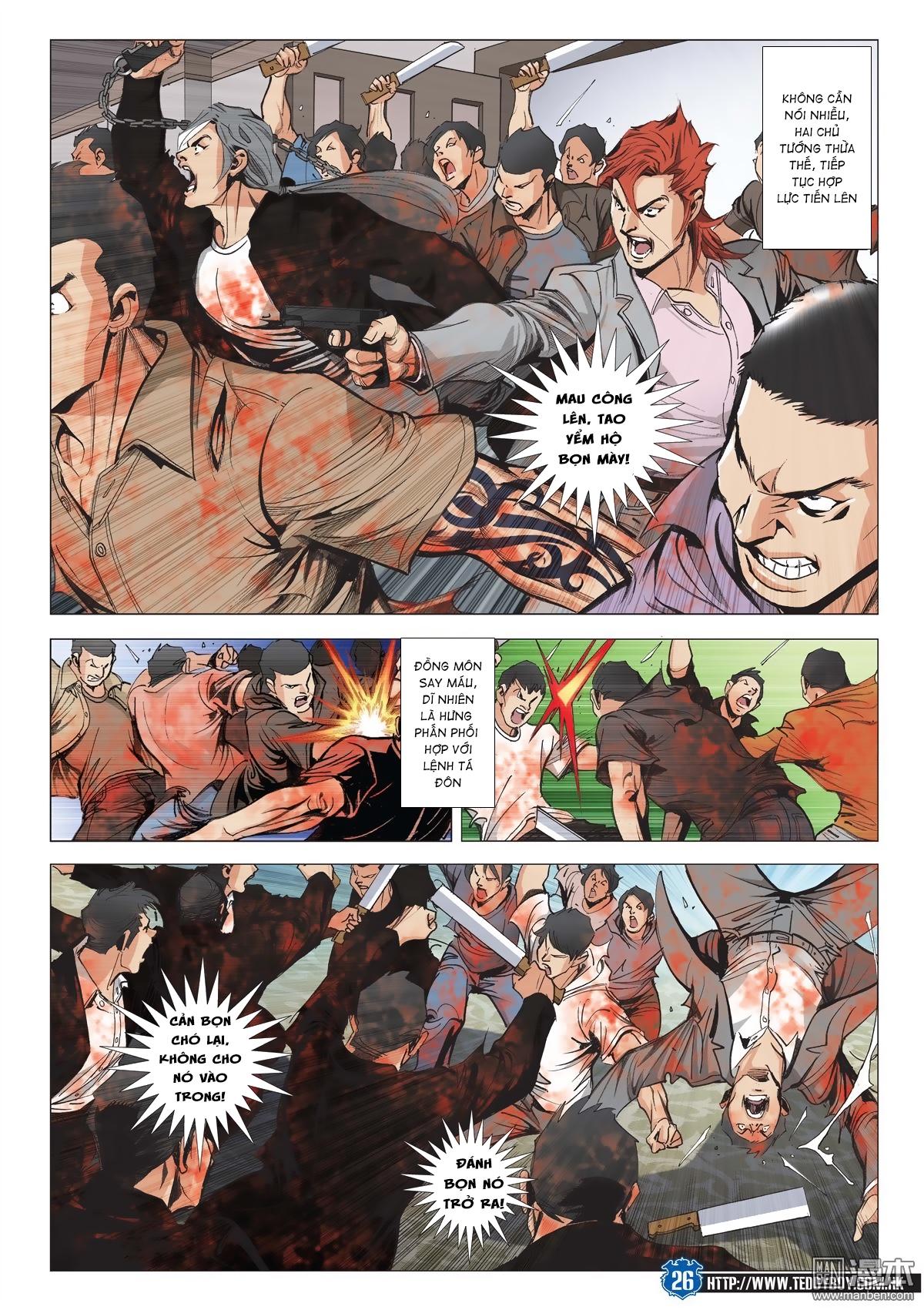 Người Trong Giang Hồ chapter 2026: khí diệm tông sư trang 25
