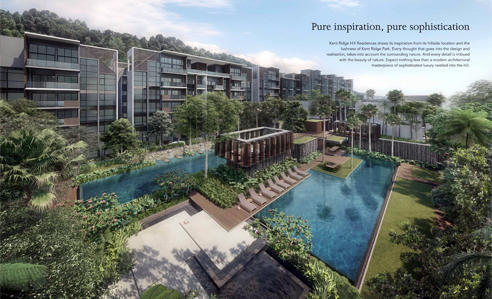Kent Ridge Residences - Facilities Deck