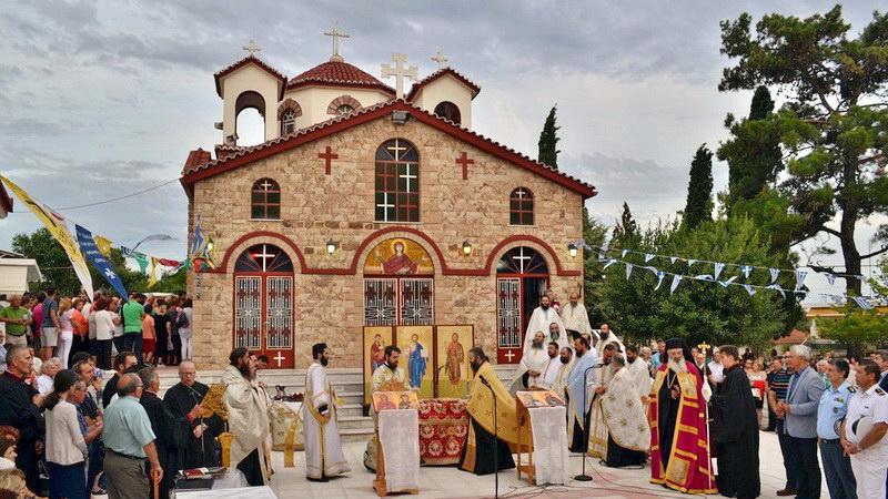 Πανήγυρις Ιερού Ναού Αγίας Μαρίνας Μαΐστρου Αλεξανδρούπολης