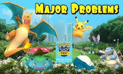 Festival Pokemon Go Berakhir dengan Bencana, Ini penyebabnya