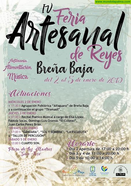 4ª Feria Artesanal de Reyes 2019 en Breña Baja