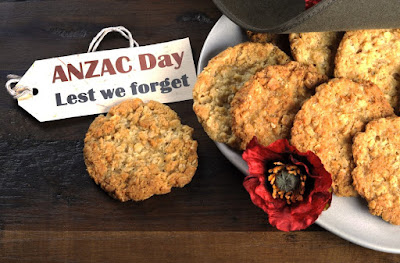 anzac day biscuits lest we forget