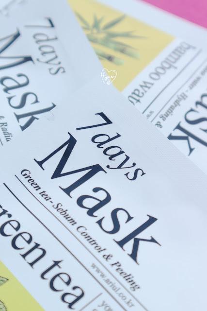 Ariul 7 Days Mask Jinja Solusi Untuk Masalah Kulitmu Tyeaan