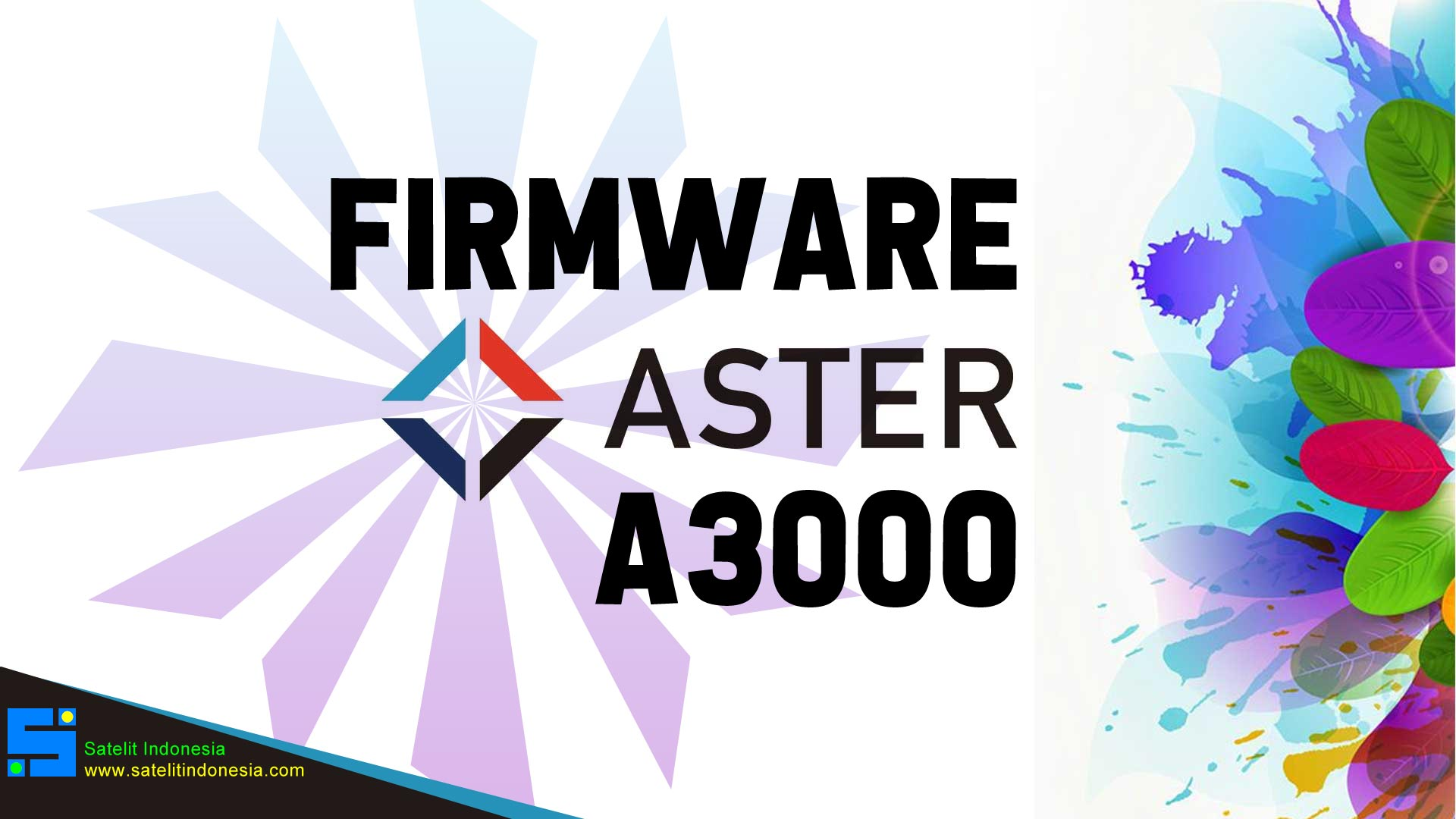 Download Software Aster A3000 New Update Firmware Receiver