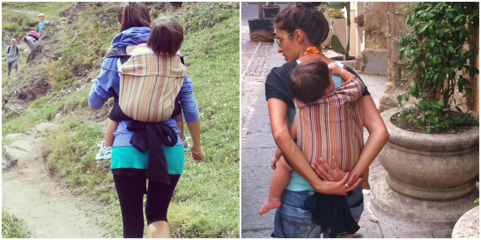 supporto ergonomico per portare bambini