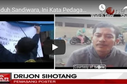 Dituduh Sandiwara oleh TKN Jokowi, Begini Pengakuan MENGEJUTKAN Pemasang Poster Tolak Sandiaga Uno