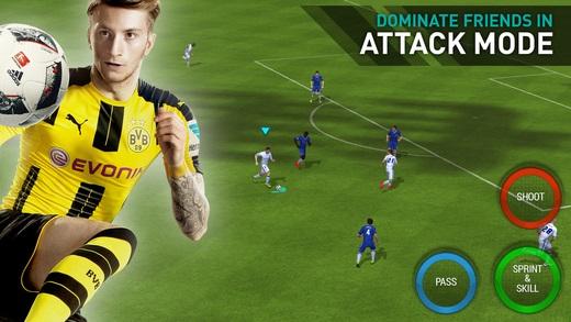 تحميل لعبة كرة القدم FIFA Mobile Football 2017 للأندرويد والأيفون