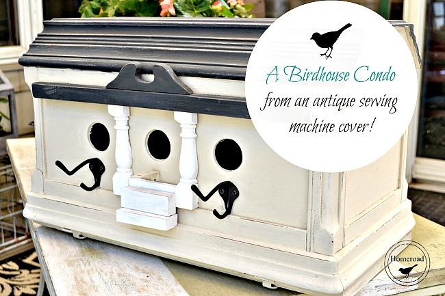 How to make a DIY Birdhouse Condo