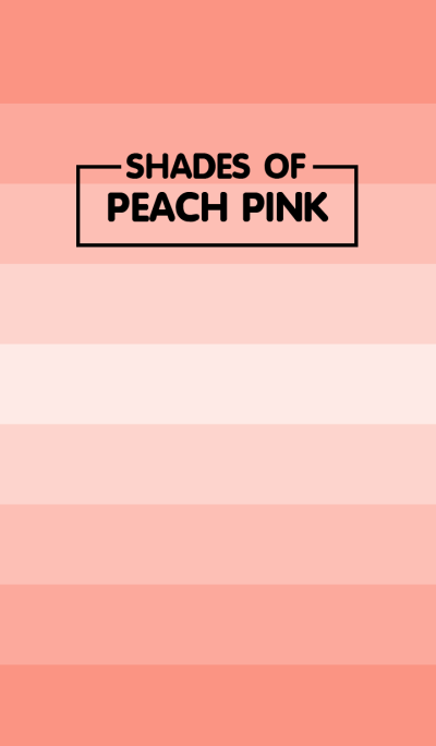 Shades Of Peach Pink (jp)
