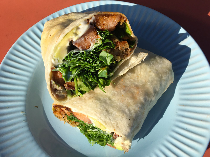 Breakfast wrap - Vegan brunch in Cork