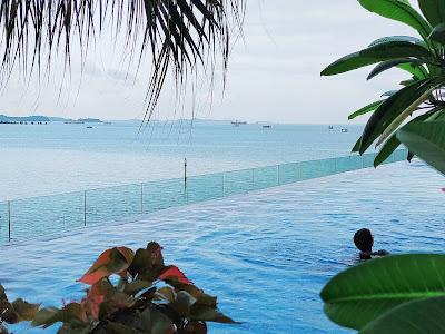 Kolam Renang Marriott Hotel