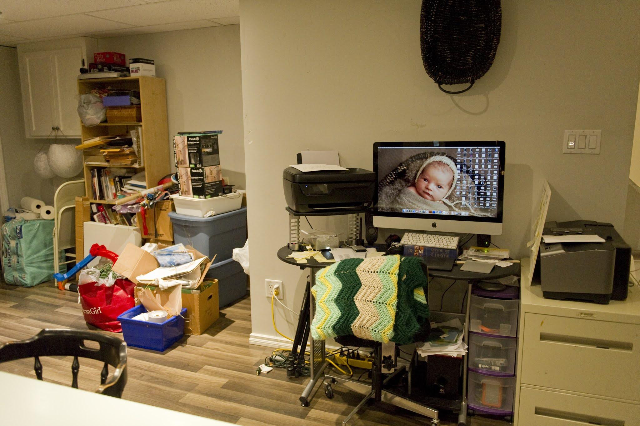 homeschool basement room