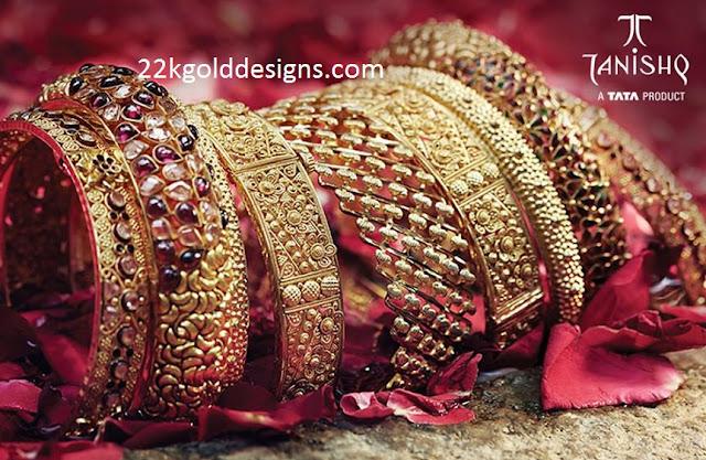 Tanishq Bridal Gold Bangles