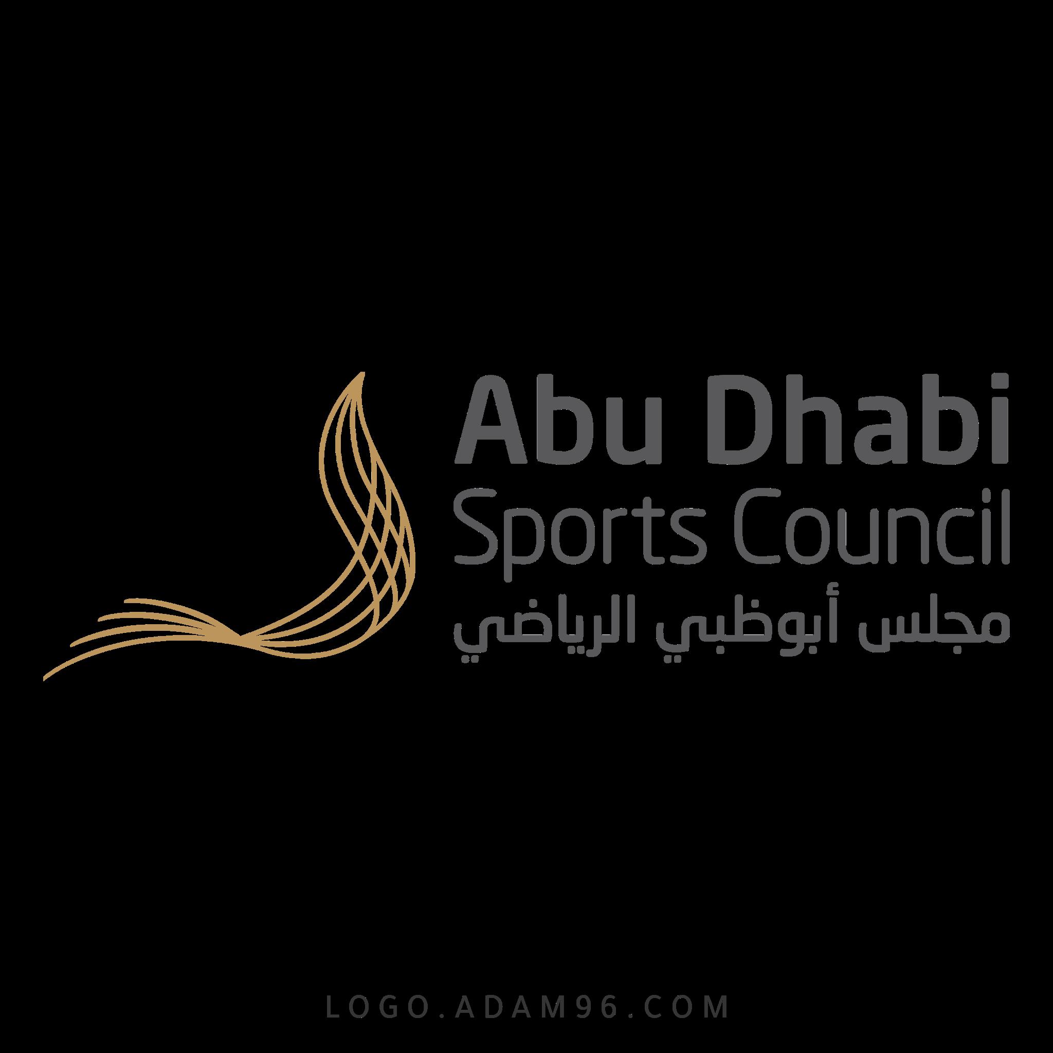 تحميل شعار مجلس أبو ظبي الرياضي لوجو عالي الجودة بصيغة PNG