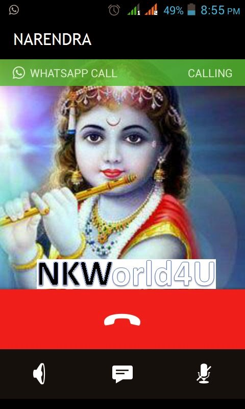 WhatsApp Voice Calling Feature NKWorld4U