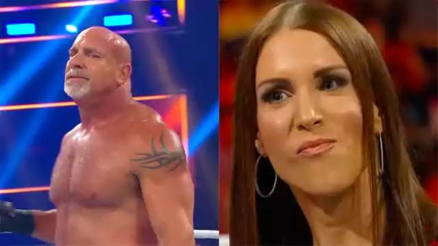 Stephanie McMahon apologizes and Goldberg feels jealous