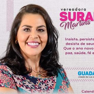 Vereadora Surama Martins apresenta Indicativo de Lei que garante adicional de 40% aos profissionais de Saúde em Guadalupe no Piauí