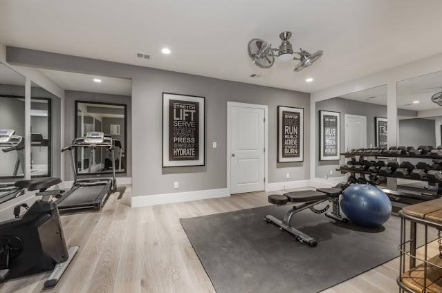 home gym design ideas basement