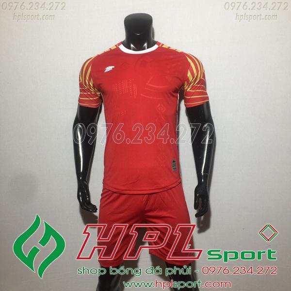 Áo bóng đá ko logo Eureka HAT VC  Màu Đỏ