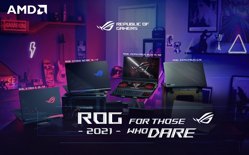 ROG Philippines, First to announce release of the 2021 Gaming Laptops
