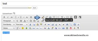 link wordpress tutoriale