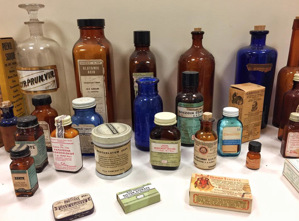 Apothecary_Vintage Prescription Medications_Community Pharmacy_Student Pharmacist_Pharmacy Blog