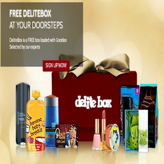 FREE Goodie box from DeliteBox