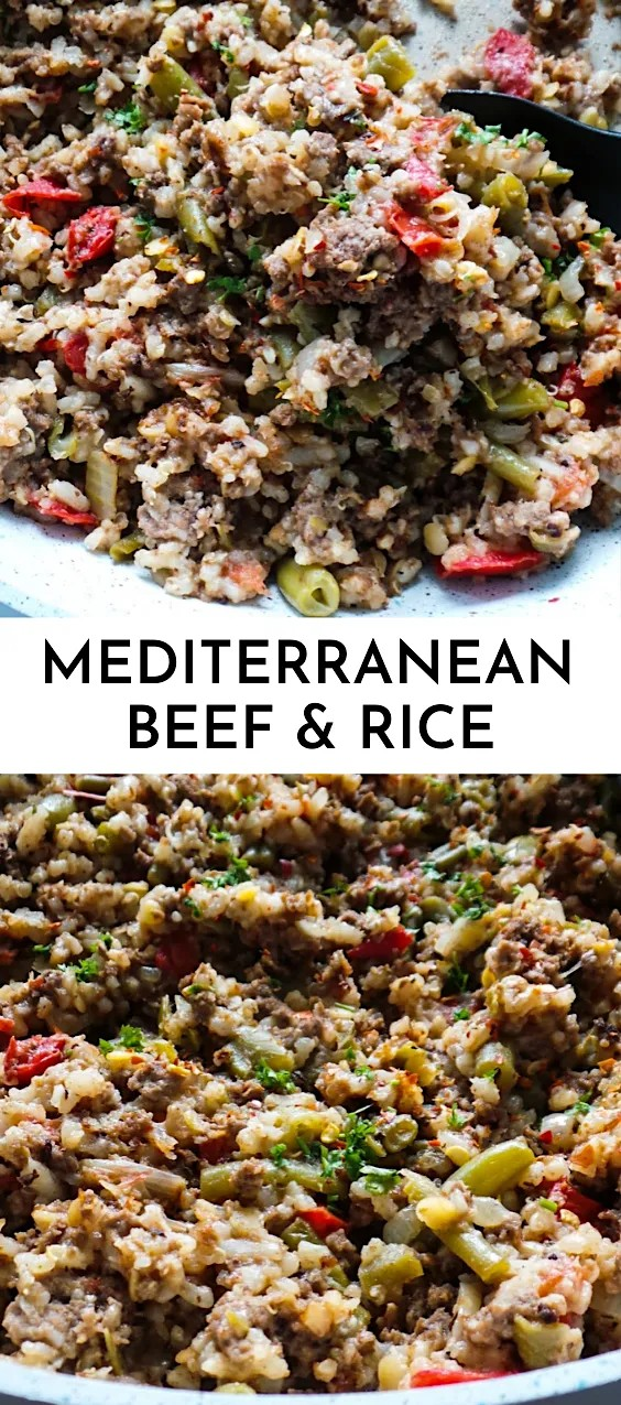 Mediterranean Beef And Rice Recipe | Gluten-Free Meal Prep