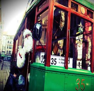 Коледният трамвай