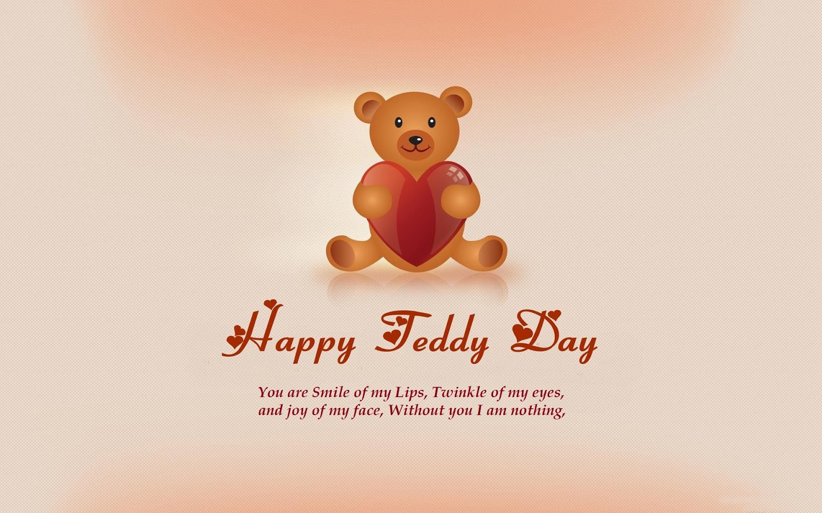 teddy day msg