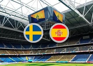 Швеция - Испания: смотреть онлайн бесплатно 15 октября 2019 прямая трансляция в 21:45 МСК.